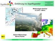 Bernd Fischer - Meteorologie Seminar, Einführung (PDF)