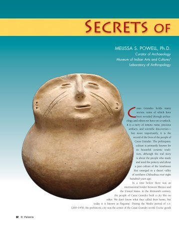 Secrets of Casas Grandes - El Palacio Magazine