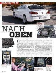 VW CC Fahrbericht - Volkswagen AG
