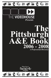 Managerie's 2006 Pittsburgh Arts & Entertainment Guide