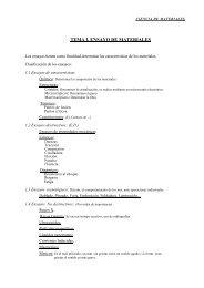 TEMA I. ENSAYO DE MATERIALES - Procesos Industriales
