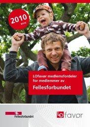 Katalog LO favør 2010 - Fellesforbundet