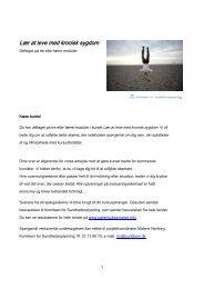 Spørgeskema til frafaldne 2013 (PDF) - Patientuddannelse