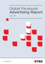 Global Facebook Advertising Report - TBG Digital