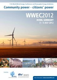 11th World Wind Energy Conference & Renewable Energy