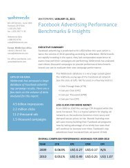Facebook Advertising Performance Benchmarks & Insight - Cl - Cl.ly