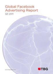 2011 Global Facebook Advertising Report - TBG Digital