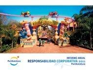 Informe Anual de Responsabilidad Corporativa 2011 - PortAventura