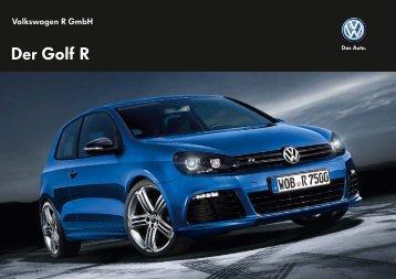 Katalog zum Golf R - Volkswagen AG