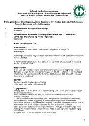 Referat fra bestyrelsesmøde i Hjerneskadeforeningens lokalafdeling ...