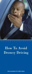 How To Avoid Drowsy Driving - AAA Exchange