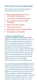 How To Avoid Drowsy Driving - AAA Exchange - Page 4
