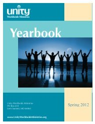 Yearbook - Association of Unity Churches