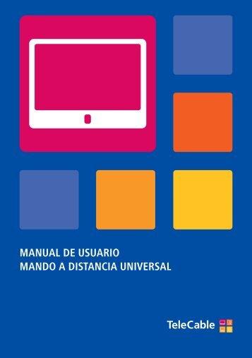 manual de usuario mando a distancia universal - Telecable