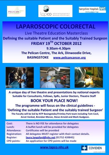LAPCO Masterclass Programme 19th Oct 2012 (PDF - 181.3