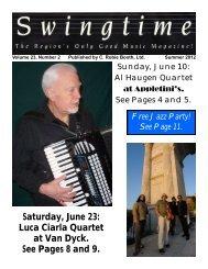 Jazz Jam - Swingtime Jazz Society