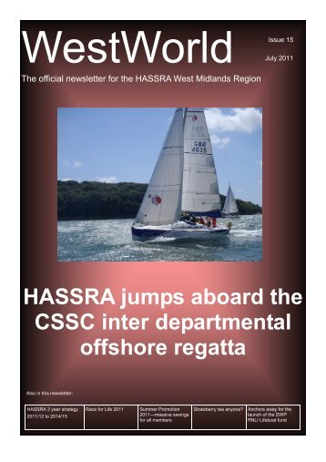 WestWorld Issue 15 July 2011 - Hassra