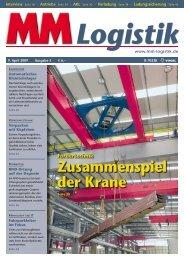 Zusammenspiel der Krane - MM Logistik - Vogel Business Media ...