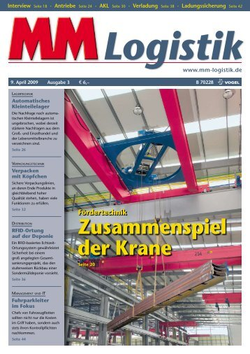 Zusammenspiel der Krane - MM Logistik - Vogel Business Media ...