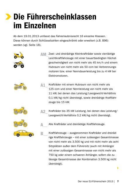 Der neue EU-Führerschein 2013 - ACADEMY Fahrschule Weidenhof