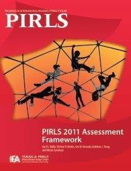 PIRLS 2011 Assessment Framework - Proj AVI