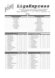 Mitteilungen der Volleyball-Bundesliga Saison 2001/2002 Nr. 5 vom ...