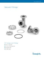 Vacuum Fittings, CF Flanges and Fittings, (MS-03-17, R2) - Eoss.com