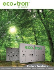 Brochure - Dectron International, Inc.