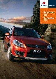 SX4 Crossover SX4 Crossline - Auto Havelka