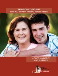 residential treatment for youth with mental health needs - Illinois ...