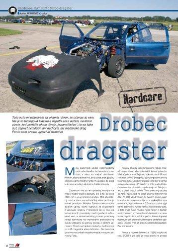 Hardcore: FIAT Punto turbo dragster - AutoTuning.sk