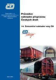 14. Železniční nákladní vozy ČD - Cassandra, spol. s r.o.