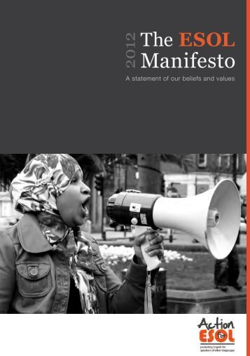 The ESOL Manifesto - UCU