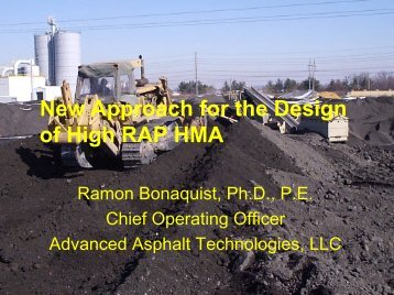 New Approach for the Design of High RAP HMA - neaupg