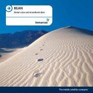 BGAN overview - Inmarsat