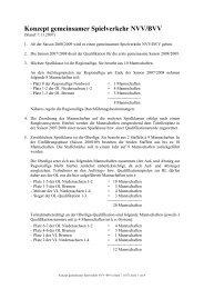 Konzept gemeinsamer Spielverkehr NVV/BVV - Bremer Volleyball ...