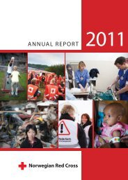 ANNUAL REPORT - Røde Kors