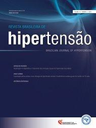 Rev. Bras. Hipertens. volume 18, nº. 2 - Departamentos Científicos ...