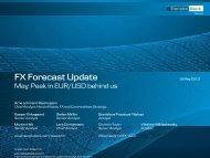 FX Forecast Update - Danske Analyse - Danske Bank
