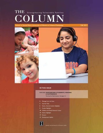 Column - The School of Social Work - University of Illinois at Urbana ...