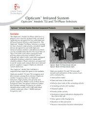 GTT Opticom Infrared 752 and 754 Phase Selectors - Temple, Inc.