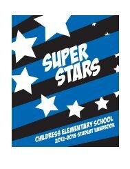 CES Handbook 2012-2013 - Childress Elementary School