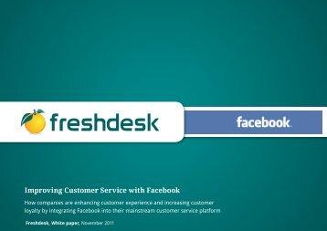 Improving Customer Service with Facebook - Freshdesk