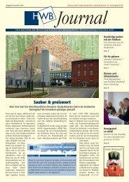 PDF HWB Journal Dezember 2009 - h e n n i g s d o r f . d e