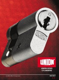 UNION KESO CYLINDERS - Merchandise Building Material Ltd.