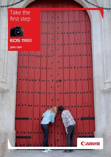 Take the first step - Brochures - Canon Europe