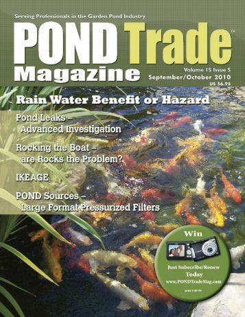 Download the September / October, 2010 PDF - Pond Trade Magazine