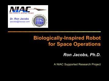 Dr. Ron Jacobs