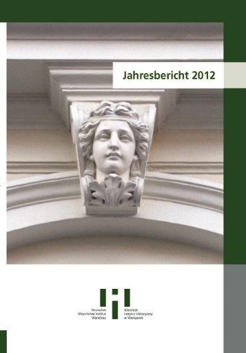 Teilprojekt 1 - Deutsches Historisches Institut Warschau