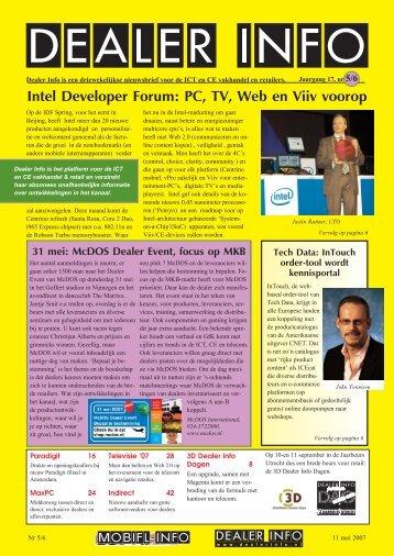Dealer Info nummer 5/6 in pdf formaat.